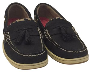 Sperry Black/Leopard Athletic