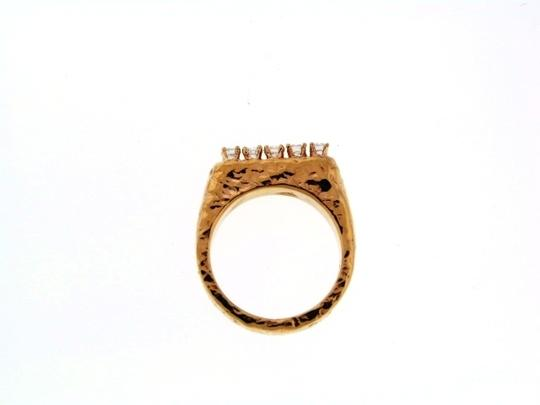 Other 14k yellow gold 5 diamond 1/4 ct band/ring Image 2
