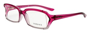 Versace Versace VE3143 864 Pink Gradient Gray Womens Rx Eyeglasses