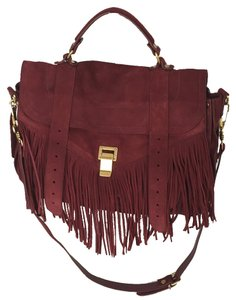 Proenza Schouler Satchel in Burgundy