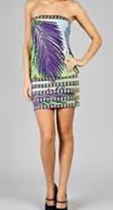 BCBGMAXAZRIA short dress Multi on Tradesy