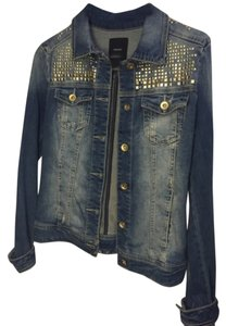 Forever 21 Light wash Womens Jean Jacket