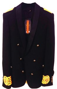Balmain x H&M Embroidery Jacket Black, Gold Blazer
