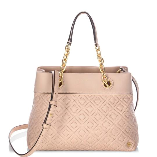 Preload https://img-static.tradesy.com/item/8764336/tory-burch-fleming-small-new-mink-leather-tote-0-3-540-540.jpg