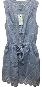 Skies Are Blue short dress Light Denim Blue on Tradesy