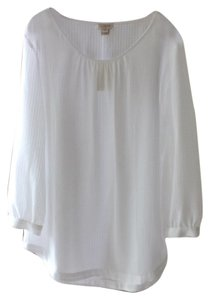 J.Crew Casual Top White