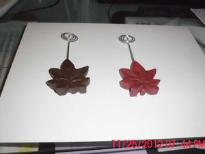 Red Leaf Picture Or Holders (19) Tableware