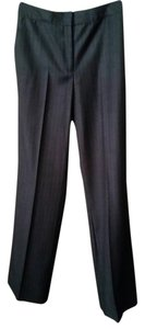Calvin Klein Wide Leg Pants Grey, stiped