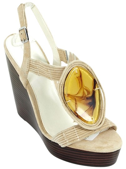 Preload https://img-static.tradesy.com/item/876580/calvin-klein-brown-and-beige-suede-abalone-sandals-wedges-size-us-9-0-0-540-540.jpg