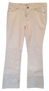 Ann Taylor LOFT Boot Cut Pants White