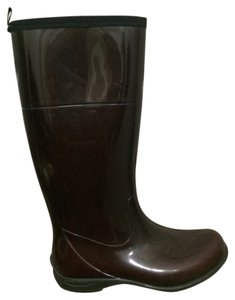 Kamik Rain Waterproof Rain Rubber Rain Brown Boots