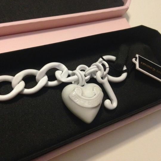 Juicy Couture Juicy couture heart starter bracelet white new with tag Authentic