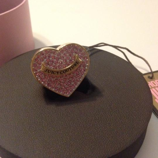 Juicy Couture Juicy Couture heart lipgloss ring new with tag authentic