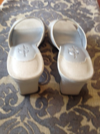 Chinese Laundry Silver Mules
