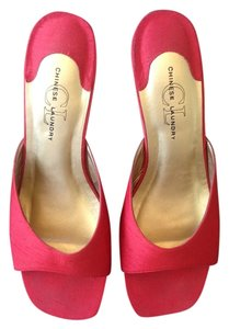 Chinese Laundry Red Mules