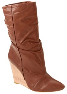 Plomo Leather Bootie Ankle Boot Cognac Boots