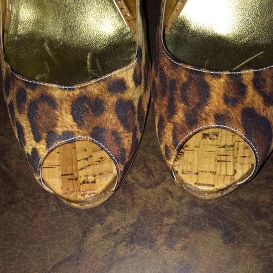 Guess By Marciano Leopard Platforms