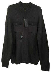 Marc Anthony Men Luxury Grey Dark Grey Sweater