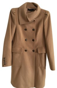 Zara Doublebreasted Wool Cozy Trench Coat