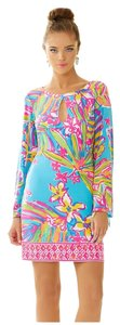 Lilly Pulitzer short dress Catwalkin Dusk Strappy on Tradesy