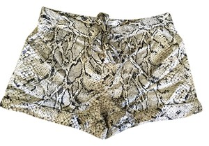 Equipment Silk Mini/Short Shorts Snake print / Python