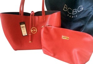 BCBG Paris Included Tote in Red