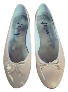 French Sole Nude Flats