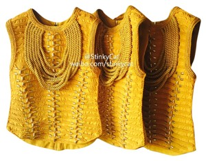 Balmain x H&M Top Yellow