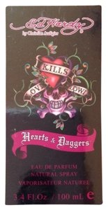 Christian Audigier NEW!! Women Ed Hardy Hearts & Daggers Eau De Parfum EDP Spray 3.4oz