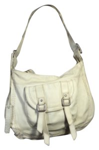Fossil white Messenger Bag