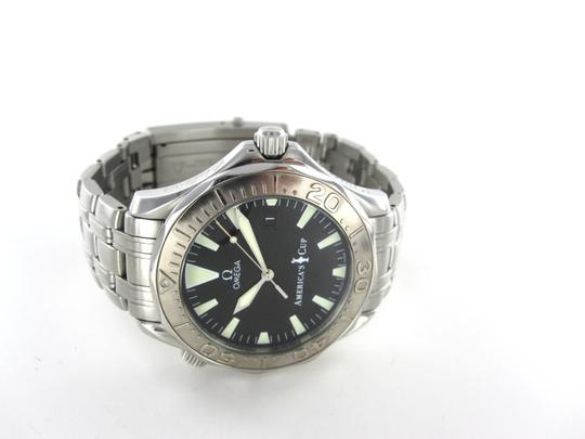 omega OMEGA SEAMASTER AMERICA'S CUP LIMITED EDITION 0084/9999 WHITE GOLD BEZEL WATCH
