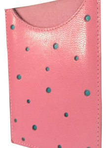 Lilikoi Pink Leather Card Case