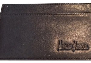 VIP Neiman Marcus Black Leather Card Case Neiman Marcus VIP Card Case