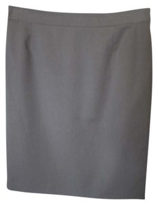 Escada Pencil Skirt Taupe