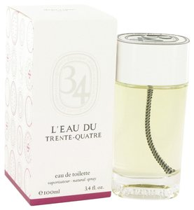 Diptyque L'eau Du Trente-Quatre Womens Mens Unisex 3.4 oz 100 ml Eau De Toilette Spray