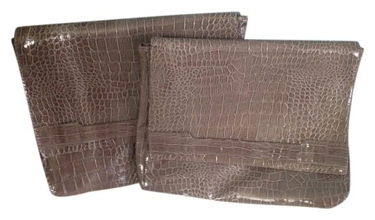 Vince Camuto Brown Clutch