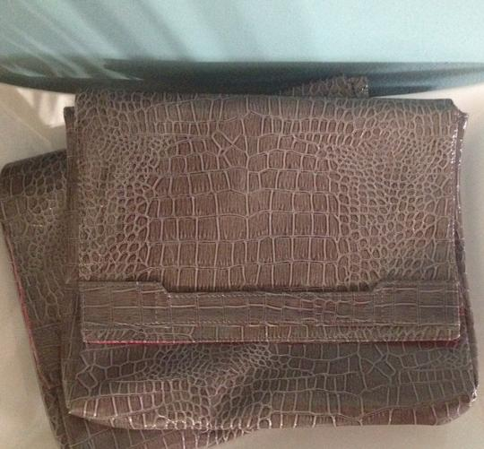 Vince Camuto Brown Clutch Image 1