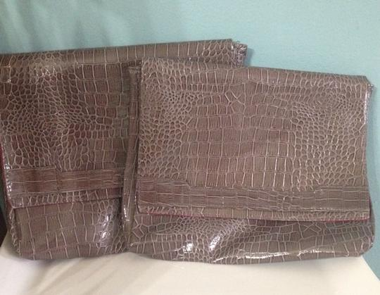 Vince Camuto Brown Clutch Image 2