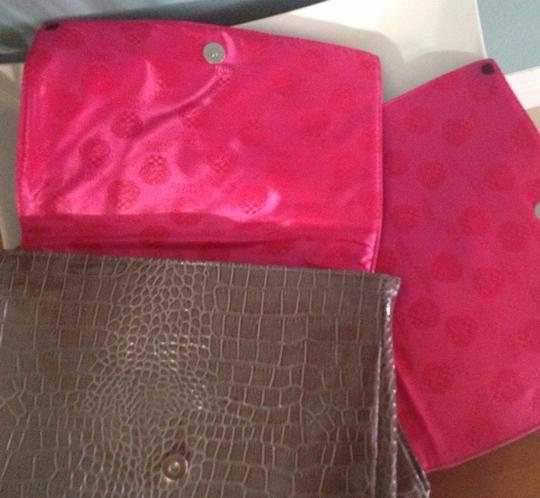 Vince Camuto Brown Clutch Image 3