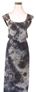 Charcoal Gray Maxi Dress by Bobeau