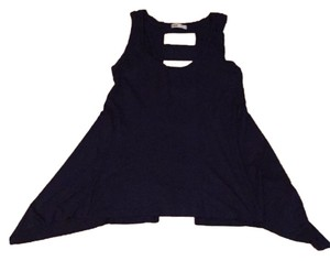 Capote Cutout Backless Sexy Summer Top Navy