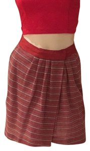 Elizabeth and James Wrap Wrap Pleated Skirt