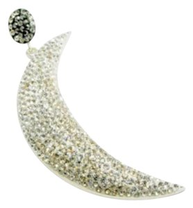 Other .925 Silver Half Moon Pendant