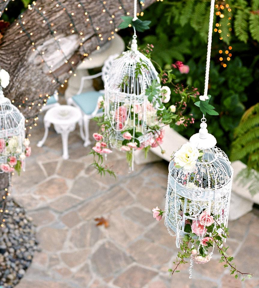 14 Rustic Shabby Chic Bird Cages