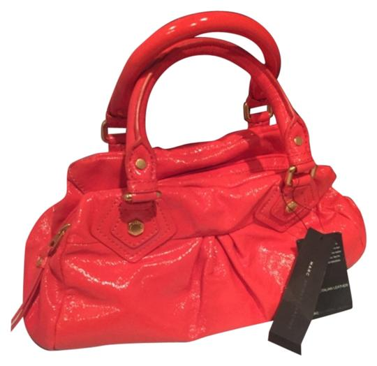 Preload https://img-static.tradesy.com/item/8785357/marc-by-marc-jacobs-classic-q-baby-groovee-orange-coated-leather-satchel-0-2-540-540.jpg