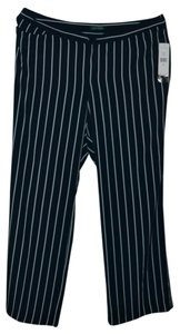 Ralph Lauren Brand new with tags Ralph Lauren plus size striped dress pants size 18w. Navy blue/pearl