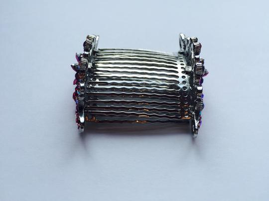 Other Multi-stone Floral Hair Combs Image 6