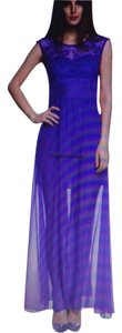 Purple Maxi Dress by Nadasha