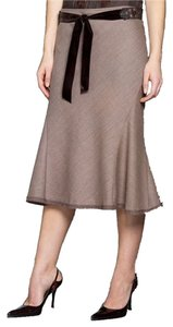 Elie Tahari Skirt Brown
