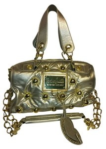 Betsey Johnson Satchel in Silver